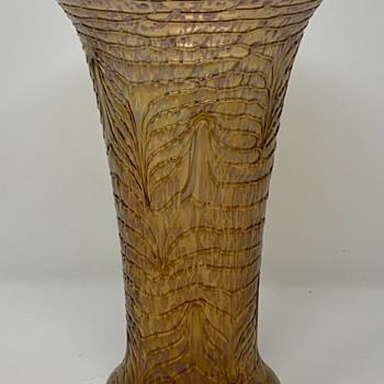 "Loetz ""Formosa New"" Trumpet Vase, ca. 1930, st PN II-8441 - Art Glass"