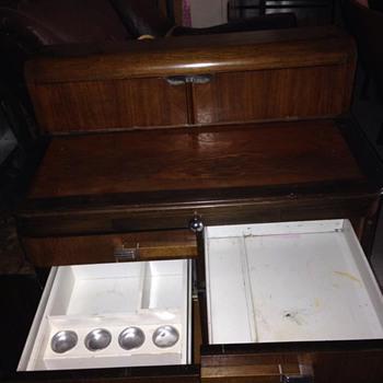Hamilton Dental Cabinet