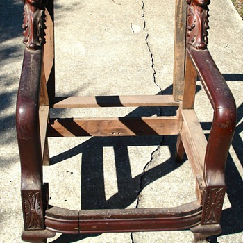 Found this chair 35 years ago. - Furniture