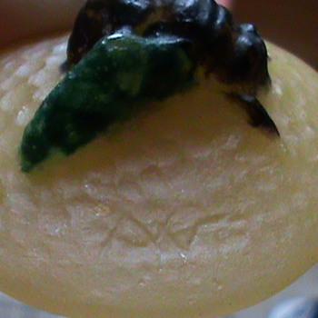 Art Deco Pate De Verre Insect Pendant~ A.W.