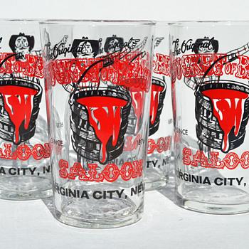 Bucket of Blood Saloon - Glassware