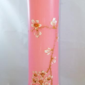 Early Loetz Pink Opal DEK III/115Vase, ca. 1890's - Art Nouveau