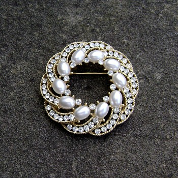 Vintage Trifari Brooch - Cavalcade Collection - Costume Jewelry