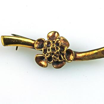 Reindeer moss brooch by Hannu Ikonen - Fine Jewelry