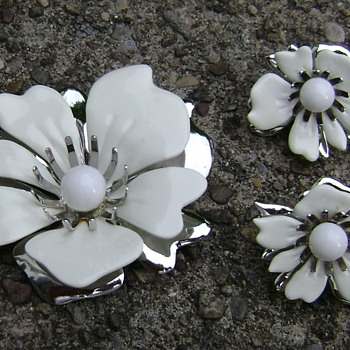 Sarah Coventry Brooch Set - New Summer Magic