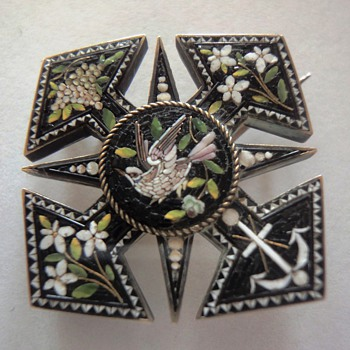 One of my favorite Micro Mosaic brooches - Fine Jewelry