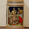 German Stein with music box on bottom,song