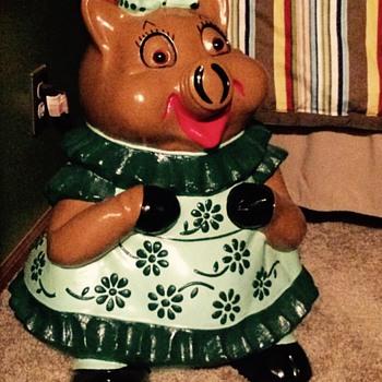 2 ft tall large piggy Bank - Animals