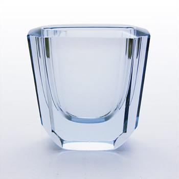Two Strömbergshyttan heavy vases - Art Glass