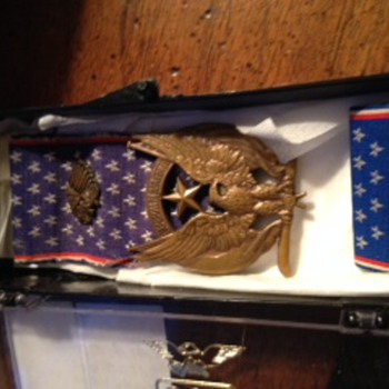 Lafayette Escadrille Medal - Military and Wartime