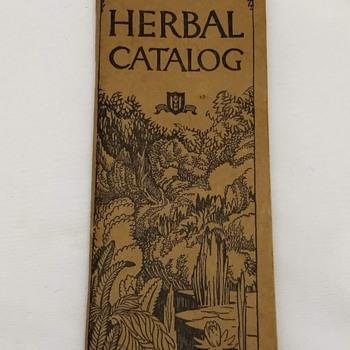 J. E. Meyer 1943 Herbal Catalog Vintage Cures Quackery - Books