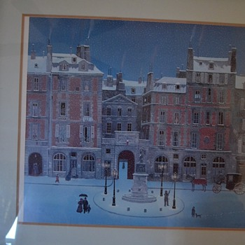 Michael Delacroix  Signed Litho with certificate of Authen - Posters and Prints