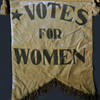 ORIGINAL Suffragette Banner Dakota Wesleyan Student Jessie Agnes (Turner) Aaron 1909-1912