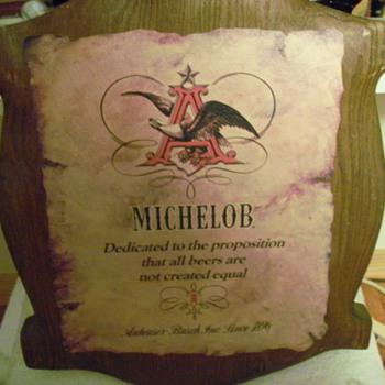 Michelob Sign - Breweriana