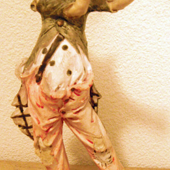 Clown Playing Horn  - Figurines