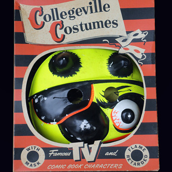 Vintage 1960s (Don't be a) LITTERBUG Collegeville Halloween Costume - Toys