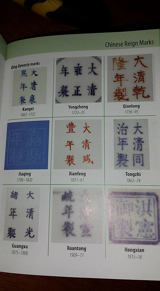 Chinese Ceramic Marks Collectors Weekly