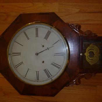 Forestville Pendulum Clock circa 1870 ? - Clocks