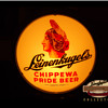 The Story Behind This Ornamental Leinenkugel's 'Chippewa Pride' Beer Lighted Porcelain (ROG) Glass Sign