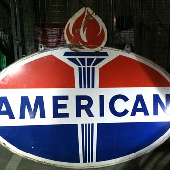 American 6ft DSP with flame