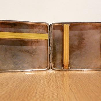 SILVER CIGARETT-ETUIS   LUTZ & WEISS - Silver