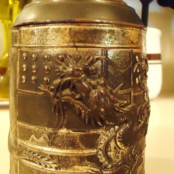 Chinese metal box!  Used for what and how old is it! - Asian