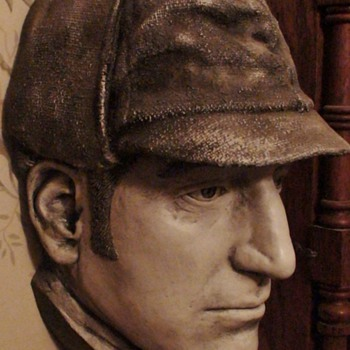 Sherlock Holmes Basil Rathbone Life Mask - Movies