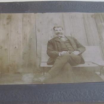 Early Photo (CA 1910) of Civil War veteran. - Photographs
