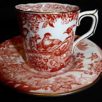 Royal Crown Derby Cup and Saucer - China and Dinnerware