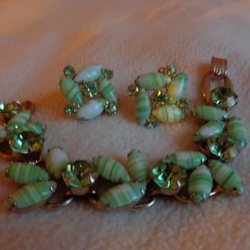 Juliana Bracelet and Earrings