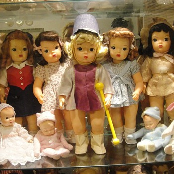Some of my Terri Lee's - Dolls