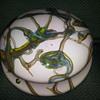 Art Nouveau lampshade