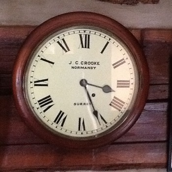 """Can anyone tell me about ( J.C. Crooke """"Normany"""") clock named Surrey? - Clocks"""