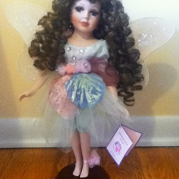 Standing Fairy Porcelain Doll - Dolls