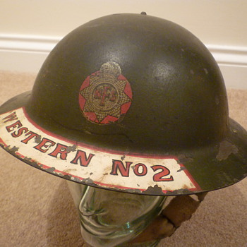 British WW11 National Fire Service
