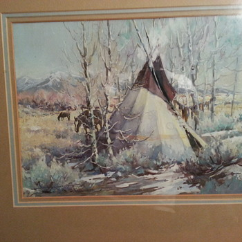 An Original Painting by Sherry L. Gribben