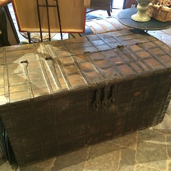 Large Chest - Wood and Iron