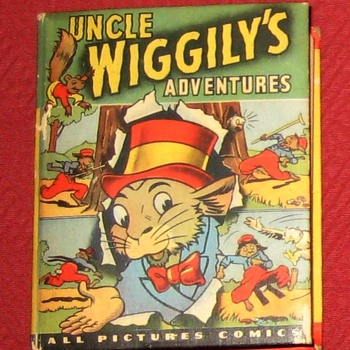 1946 Better Little Book-Uncle Wiggily's Adventures - Books