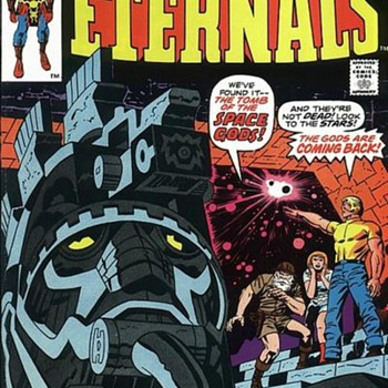 The ETERNALS - Comic Books