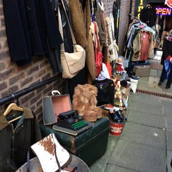Thrift store in Durham UK. Neat store.