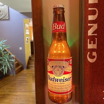 Budweiser beer bottle light - Bottles
