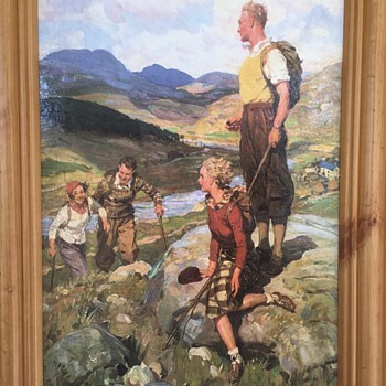 Print by W R S Stott - After the Fell - Fine Art