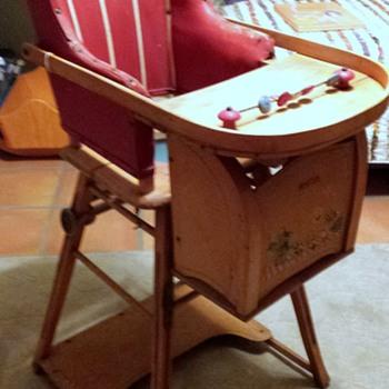 Combo Baby High Chair/Potty/Wheel Walker