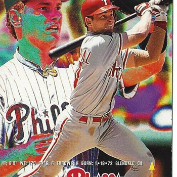 FLEER 1995 MIKE LIEBERTHAL #399 ERROR CARD