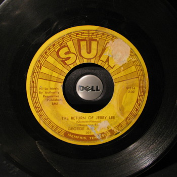 Jerry Lee Sun Recording - Records