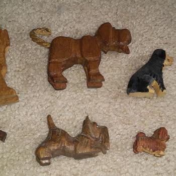 Wood dogs  - Animals