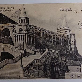 1903 Fisherman's Bastion - Postcards