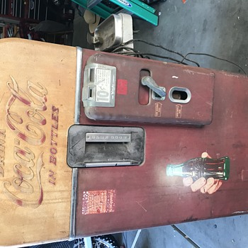 My 1956 Vendo 39 Coke machine  - Coca-Cola