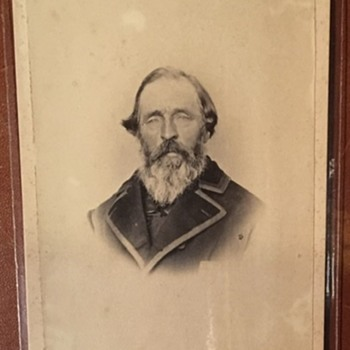 Distinguished unidentified Man 1870's - Photographs
