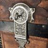 Beautiful antique brass trunk lock Barrington & Sons